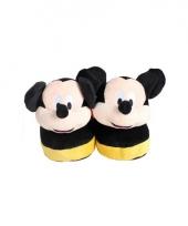 Comfortabele mickey mouse pantoffels voor kinderen