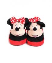 Comfortabele minnie mouse pantoffels voor kinderen