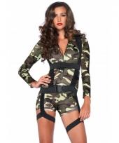 Commando leger kostuums voor dames
