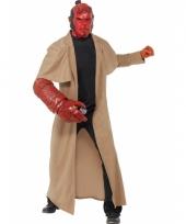 Compleet hellboy kostuum