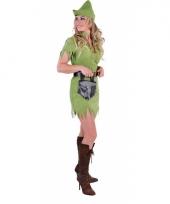 Compleet robin hood kostuum voor dames