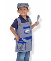 Complete machinist verkleedset voor kids