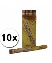 Confetti shooters 60 cm goudkleurig 10st