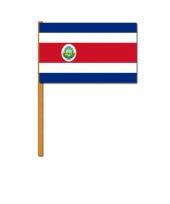 Costa ricaanse zwaaivlag