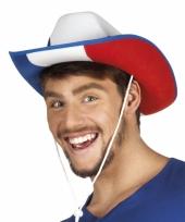 Cowboyhoed frankrijk supporter
