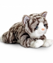 Cyperse poes knuffelbeest 35 cm