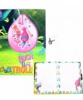 Dagboek trolls poppy met slot