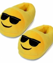 Dames coole smiley pantoffels