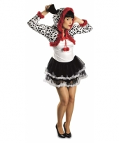 Dames dalmatier hond kostuum