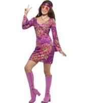 Dames hippies kostuum jaren 60