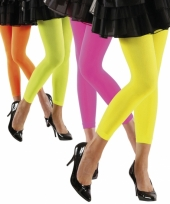 Dames legging in felle kleuren