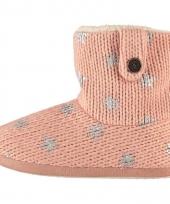 Dames pantoffels in het roze