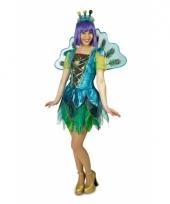 Dames peacock pauw kostuum