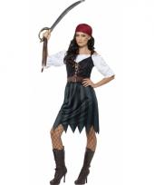 Dames piraat kostuum 10078809