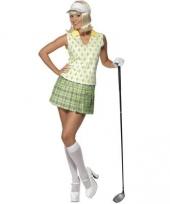 Dames verkleedkleding golfer