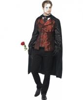 Dark opera kostuum voor heren