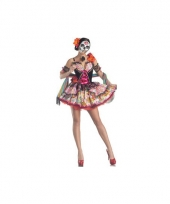 Day of the dead kostuum voor dames