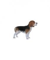 Decoratie beeld beagle 39 x 55 x 19 cm