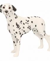 Decoratie beeld dalmatier hond 14 cm