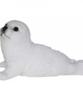 Decoratie beeld zeehond dier 18 cm