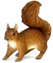 Decoratie beeldje eekhoorn 22 cm