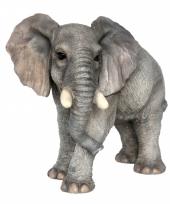 Decoratie beeldje olifant 44 cm
