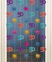 Decoratie gordijn 50 jaar