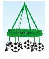 Decoratie krans voetbal