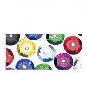 Decoratie pailletjes 6 mm 4000 stuks
