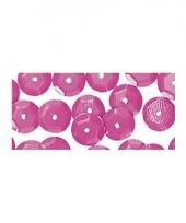 Decoratie paillettjes roze 6 mm 500 stuks