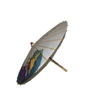 Decoratie paraplu japanse tekens