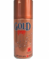 Decospray in het goud 150 ml