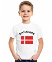 Deense vlaggen t-shirts voor kinderen