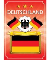 Deutschland deurposter met wapen