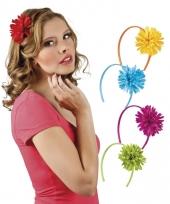 Diadeems met bloemen