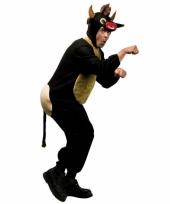 Dieren carnavalskleding stier