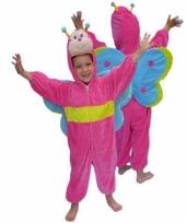 Dieren carnavalskleding vlinder