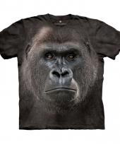 Dieren shirts aap voor kids 10079144