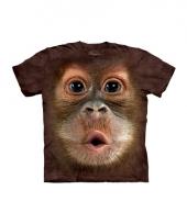 Dieren shirts aap