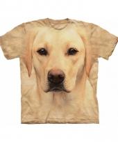 Dieren shirts labrador blond kids