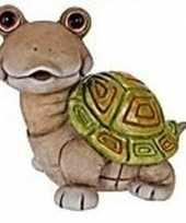 Dierenbeeld schildpadje 33 cm