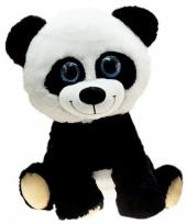 Dierenknuffel panda zittend 65 cm