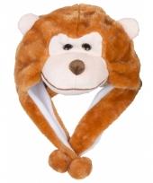 Dierenmuts aapje voor kinderen