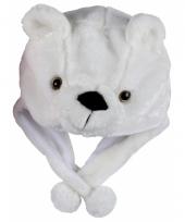 Dierenmuts ijsbeertje voor kinderen
