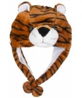 Dierenmuts tijgertje voor kinderen