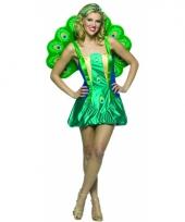 Dierenpak pauwen kostuum voor dames
