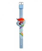 Digitale horloges my little pony blauw regenboog voor kinderen