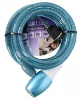 Dik spiraalslot blauw
