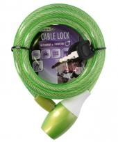 Dik spiraalslot groen