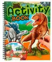 Dinosaurus kleur en speelboekje